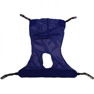 Full Body-Mesh Sling with Commode Opening-XL