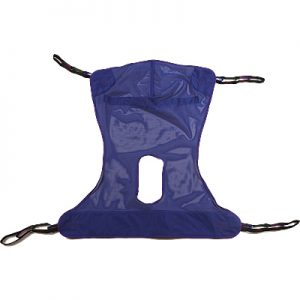 Mesh Sling with Commode Opening Medium